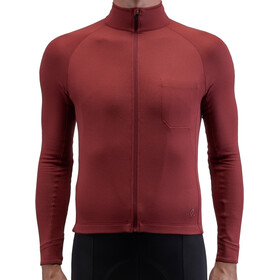 Isadore Long Sleeve Jersey Men, ruby wine